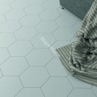 Плитка WOW FloorTiles Hexa Floor  White matt