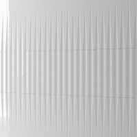 Плитка WOW Stripes Liso XL White gloss