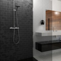 плитка WOW SubwayLab CANALE M graphite Gloss