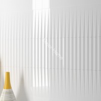 Плитка WOW Stripes Transition White gloss