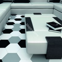 Плитка WOW FloorTiles Hexa Floor  Grey matt